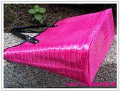 托特包-桃紅色亮面鱷魚紋:拖特包+小小後背包-13.jpg