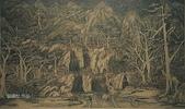 石銅雕畫作品:內雙溪的一角