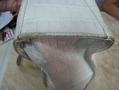 ezbyzzgana 包包清洗整染前後照:洗包包 創盛專業皮革整染 ezbyzzgan 鱷魚紋包整染前