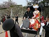 日本賞櫻第二天(0412國寶姬路城):日式婚禮