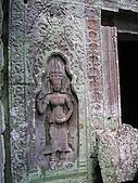 吳哥窟之旅(2005.09.21):迎賓仙女壁雕