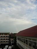 吳哥窟之旅(2005.09.22):雨停 彩虹出來囉~