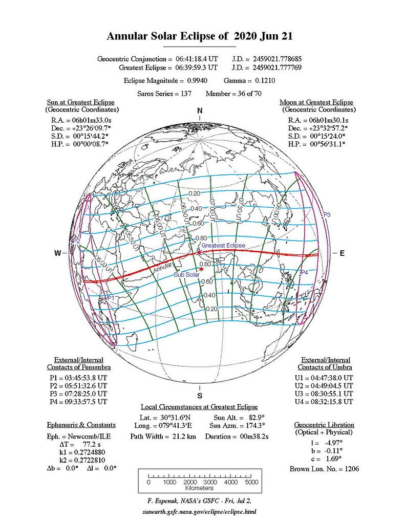 宇宙太空 Universe:2020年6月21日日環食SE2020Jun21A.jpg