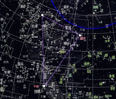 中國古天文 Chinese Constellations:夏天大三角-牛郎織女天津四