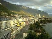 2004瑞士遊(一陽):從飯店往下望蒙投