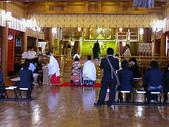 2004北海道:北海道神宮裡巧遇婚禮新人