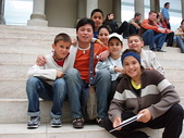 2005年德國遊(上選):貝佳蒙博物館(三)跟當地做校外教學的孩童玩起來