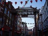 2005倫敦耶誕:白天的倫敦中國城