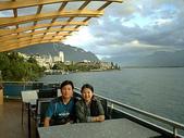 2004瑞士遊(一陽):一起喝咖啡~~蒙投