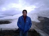2004瑞士遊(一陽):老公在觀景台拍照