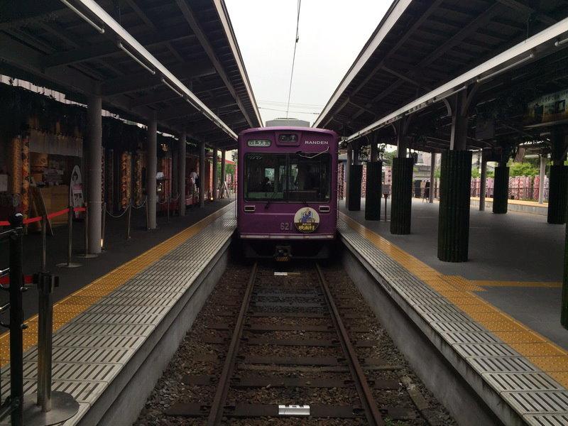 嵐山天龍寺:嵐電京福電鐵3