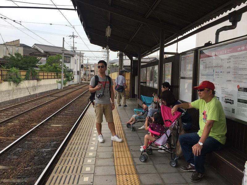 嵐山天龍寺:嵐電京福電鐵1