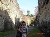 峇里島蜜月行五日遊:峇里島蜜月行~守護神廟裡的石牆~超壯觀