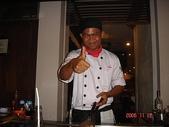 峇里島蜜月行五日遊:峇里島蜜月行~晚餐鐵板燒~可愛的小廚師