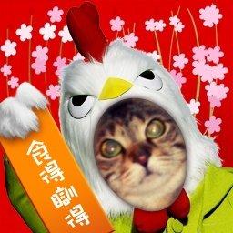 新年動物頭相製作機 m記編 Les Trois Chats 日系猫 隨意窩xuite日誌