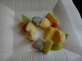 中壢西堤牛排:DSC01868時令水果沙拉.JPG