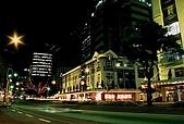 紐西蘭遊記3-前進Wellington:威靈頓市區夜色-1