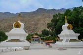 金秋北疆遊《一》:DSC_2982(p)和靜鎮北邊的巴倫台黃廟.jpg