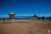 金秋北疆遊《三》:DSC_3531成吉思汗在賽里木湖的點將台.jpg