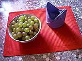 sell:紅色餐墊+藍色餐巾