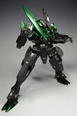 NO.132 1/100 MG GN-X(黑綠樣仕):DSC_0472.JPG