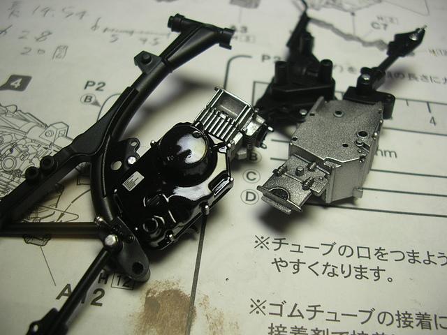 DSCN9462.JPG - 1/12 HONDA monkey 熊本熊機車製作記