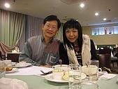 2007.12.13 歡送芳玉老師聚會:老師&師丈
