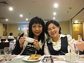 2007.12.13 歡送芳玉老師聚會:老師&我