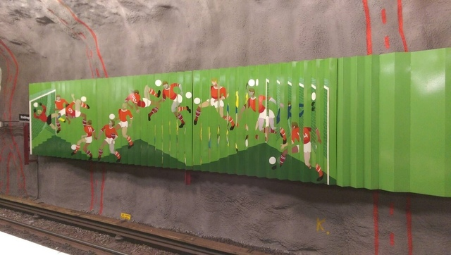 斯德哥爾摩地鐵 (4).jpg - 2019挪威冰島瑞典