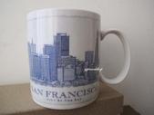 主題專區【STARBUCKS】星巴克‧各國城市馬克杯&隨行杯~:舊金山 藍色建築舊版