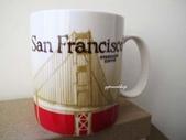 主題專區【STARBUCKS】星巴克‧各國城市馬克杯&隨行杯~:舊金山 新版