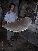 宜蘭九寮溪生態解說2008.11.01:以前用來篩小米殼的篩子