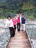 雪見與大安溪峽谷2008.08.21~22:吊橋上