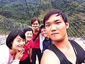 雪見與大安溪峽谷2008.08.21~22:大合照