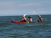 馬祖划獨木舟:三位教練