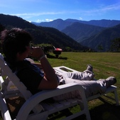 雪見與大安溪峽谷2008.08.21~22:坐在躺椅上