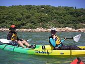 馬祖划獨木舟:兩位教練
