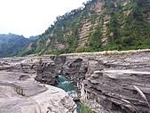 雪見與大安溪峽谷2008.08.21~22:很壯闊的峽谷