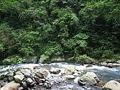 宜蘭九寮溪生態解說2008.11.01:回到第一個過溪點