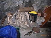 宜蘭九寮溪生態解說2008.11.01:製作陷阱的木板