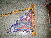 三角旗、四角旗、五方旗、令旗、龍虎旗、督陣旗(宜蘭神佛繡莊):手工跳砂火燄邊五蜂旗
