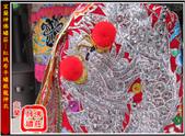 神明衣(神衣)、軟身衣、戰甲、竹衣、濟公衣、披肩(宜蘭神佛繡莊):宜蘭神佛繡莊─1尺2紅絨布平繡銀龍神衣1.jpg