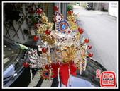 柳絲神明帽、水鑽神帽、神明兵器、銅帽、鎖牌、帽墜(宜蘭神佛繡莊):柳絲雙色九鳳冠(水鑽+紅瑪瑙珠).jpg