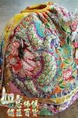 神明衣(神衣)、軟身衣、戰甲、竹衣、濟公衣、披肩(宜蘭神佛繡莊):古體鱗神衣