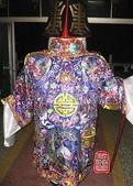 大神尪、神童、神將甲、太子戰甲、素衣、竹架、藤架(宜蘭神佛繡莊):精緻土地公童仔壽衣