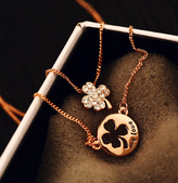 新款香奈兒飾品:四葉草項鏈批發零售1609p20.png