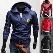 瑪莎拉蒂 法拉利 賽車套裝 外套:法拉利風衣男款尺寸M-XXL批發零售161112p65.png
