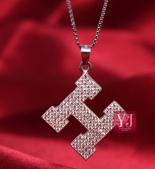 香奈兒,卡地亞 鈦鋼飾品:愛馬仕鈦鋼滿鑽項鏈p50.jpg