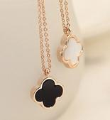 新款香奈兒飾品:四葉草項鏈批發零售1609p15.png