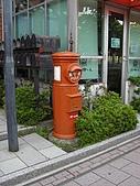 20080612日本北海道之旅:函館金森倉庫群-11最老的郵桶.JPG